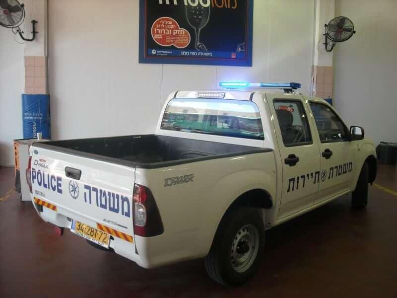 רכב משטרת תיירות