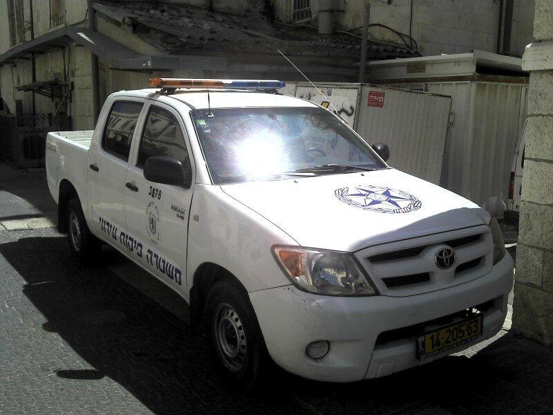 שיטור משולב - עיריית ירושלים