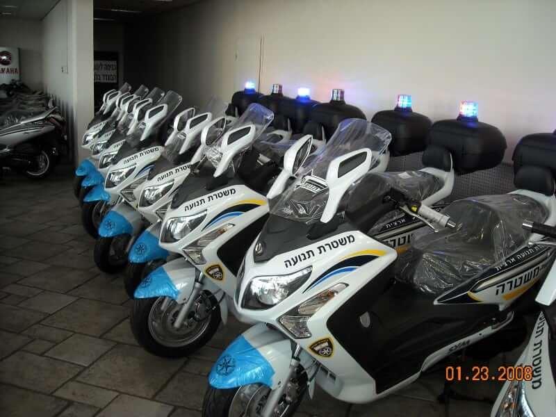 אופנועי משטרת תנועה