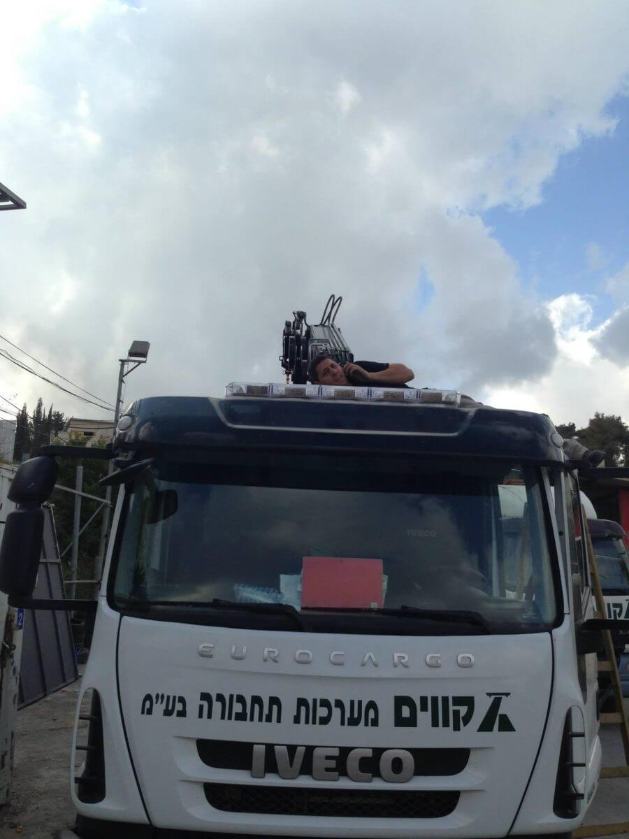 דיגום משאיות חברת קווים 2013