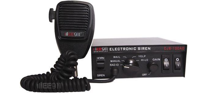 מערכת כריזה 12V 100W