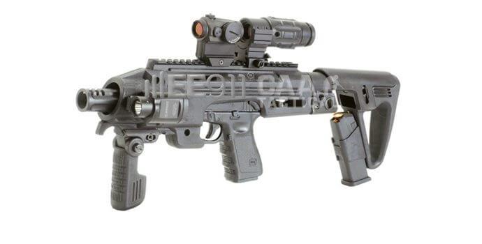 RONI: The Pistol-Carbine | RONI-G1
