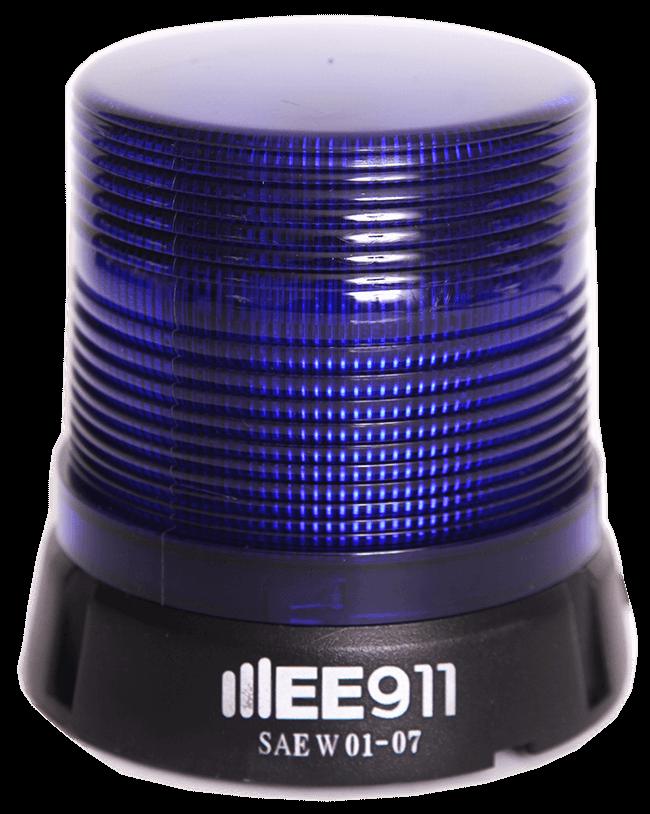 מהבהב LED חיצוני מגנטי בסיס אלומיניום