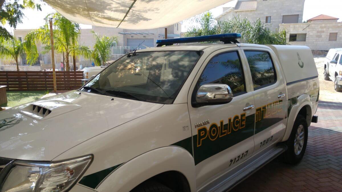 ניידת משמר הגבול