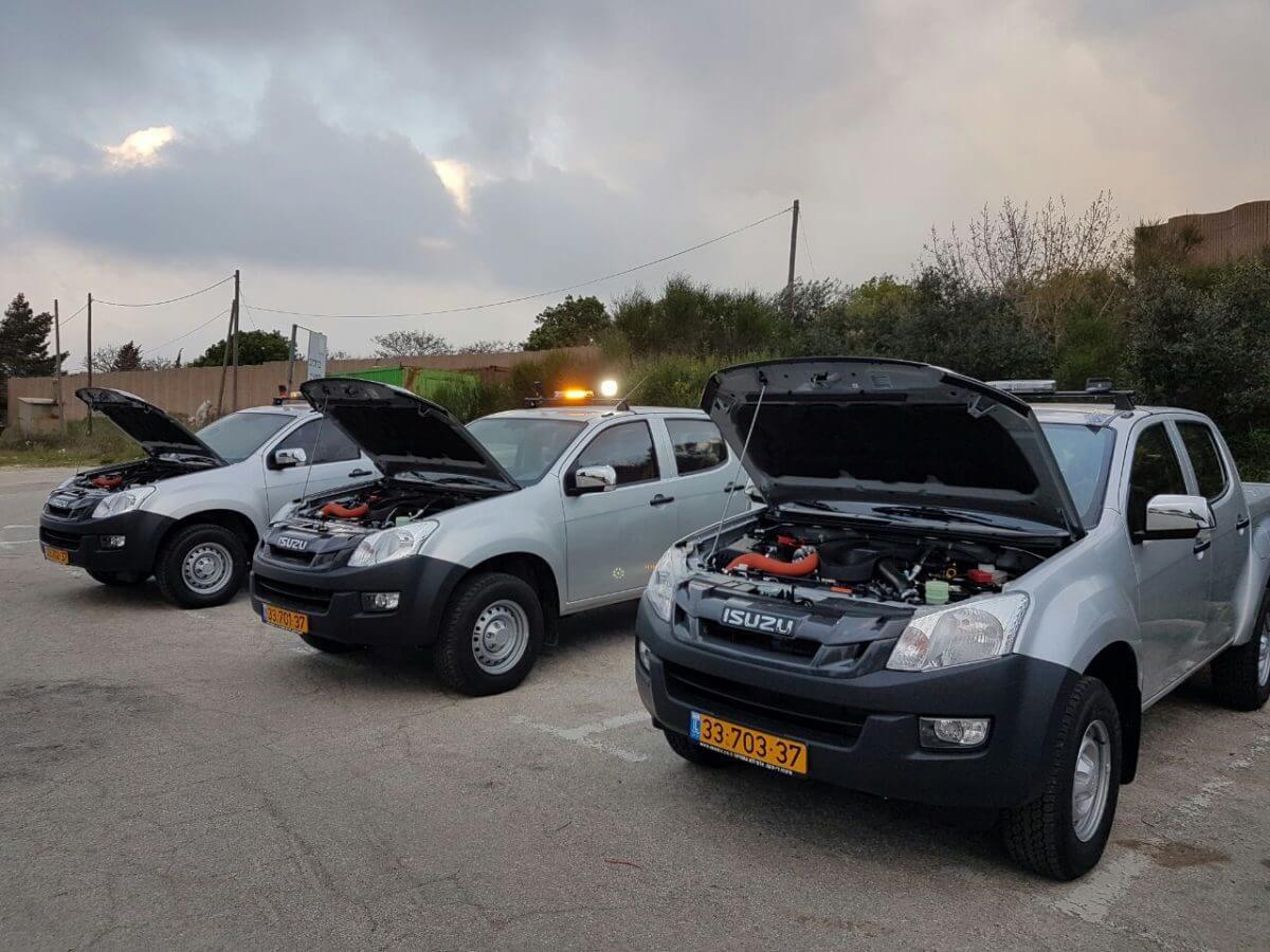 רכבי מועצה אזורית מטה בנימין