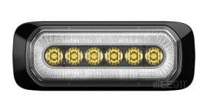 מהבהב LED עם מסגרת מוארת