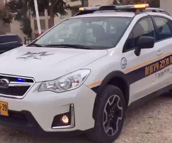 רכבי שיטור עירוני - עיריית אלעד (2018)