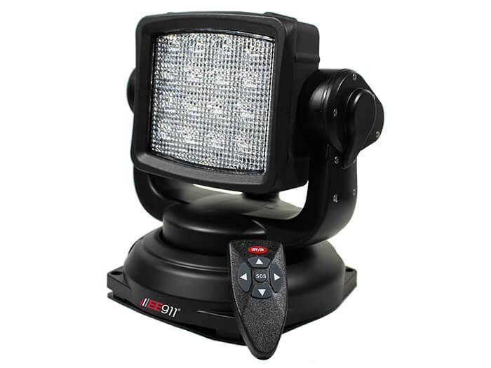 פנס סריקה מגנטי LED 80W מתכוונן עם שלט אלחוטי