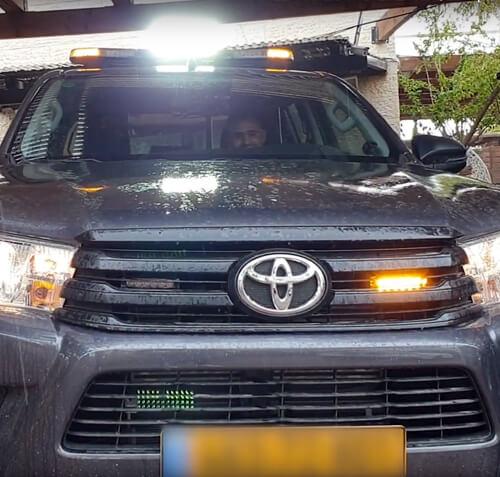 רכב ביטחון מסוג טויוטה היילקס (2019)
