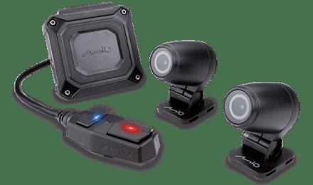 מערכת צילום דו-כיוונית לאופנוע דגם MiVue™ M760D